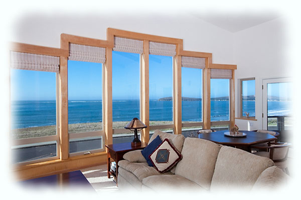 Photo: Livingroom overlooking Bodega Bay